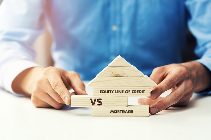 Should you get a home equity line of credit or a simple mortgage?